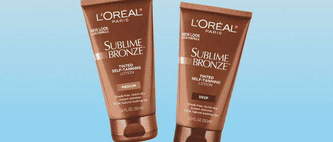 Best Tanning Lotions with Shimmer